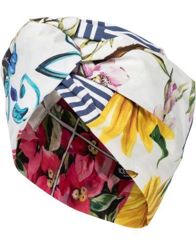 Bawełna jedwab turban Dolce And Gabbana