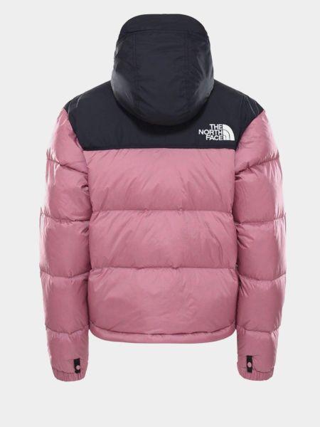 Пуховая куртка с капюшоном на молнии The North Face