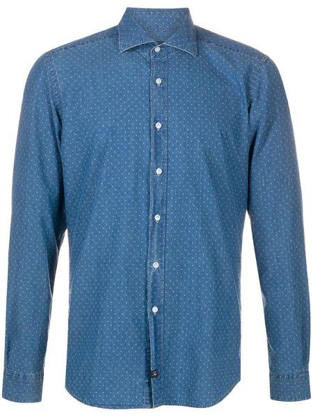 Koszula z długim rękawem klasyczna długa Fay