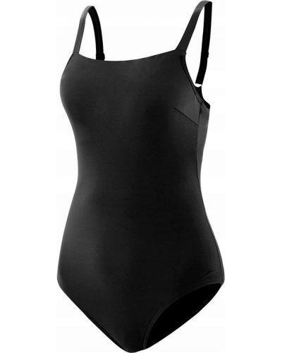 Czarny strój kąpielowy z nylonu Speedo