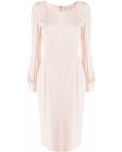 Платье миди футляр розовое Goat