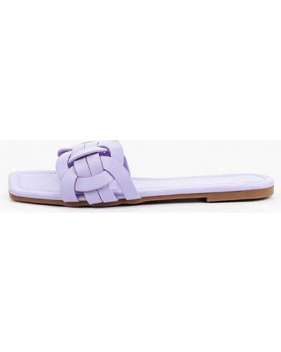 Фиолетовые кожаные сабо Sweet Shoes