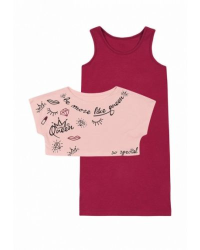 Розовый костюм ля-ля