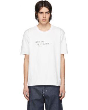 С рукавами черная рубашка с короткими рукавами с воротником с манжетами Camiel Fortgens