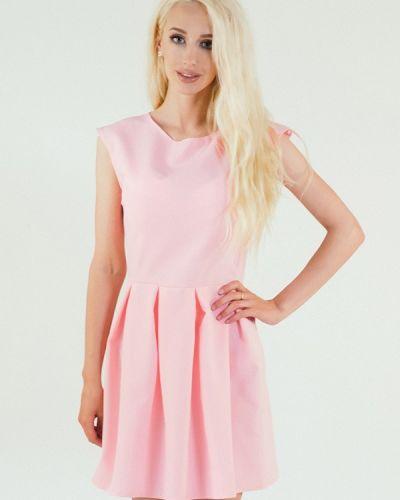 Повседневное платье весеннее розовое Подіум