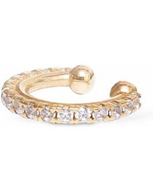 Złote srebrne kolczyki Lil
