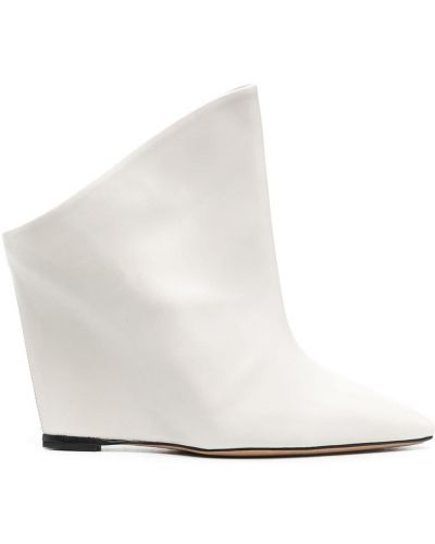 Ankle boots, biały Isabel Marant