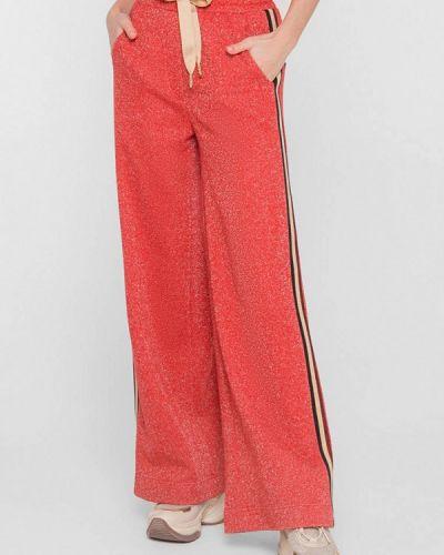 Красные спортивные брюки Lo
