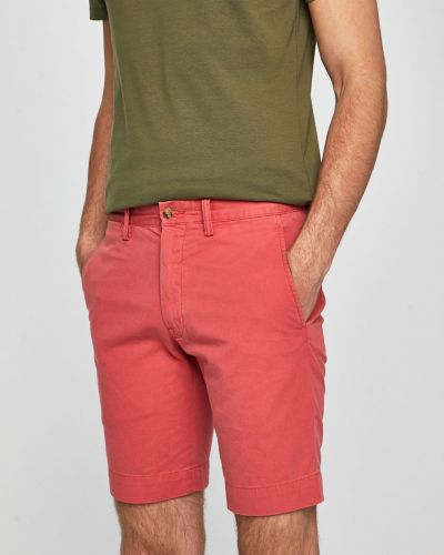 Шорты прямые с карманами Polo Ralph Lauren
