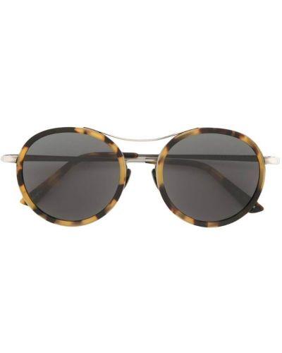 Солнцезащитные очки черные хаки Sunday Somewhere