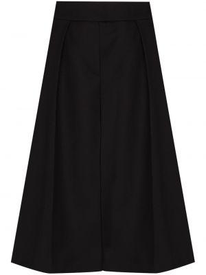 Черные шорты свободного кроя Alexandre Vauthier
