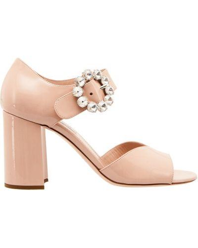 Женские босоножки на высоком каблуке Miu Miu (Миу Миу) - купить в ... 72a014c30b1