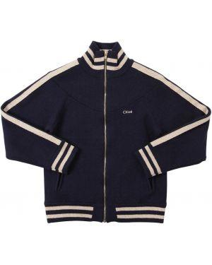 Пиджак с логотипом с карманами Chloé