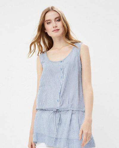Голубая блузка Gregory