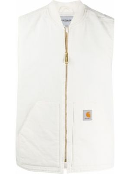 Kamizelka z kieszeniami biały Carhartt Wip