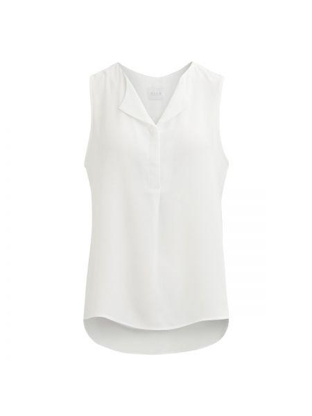 Блузка без рукавов с V-образным вырезом с вырезом Vila