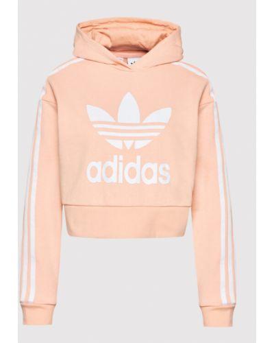 Bluza - pomarańczowa Adidas