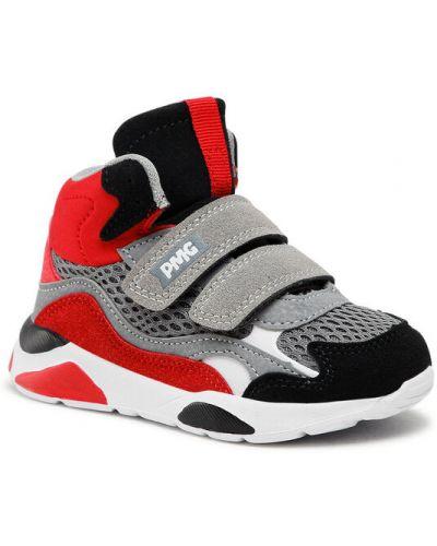 Szare sneakersy Primigi