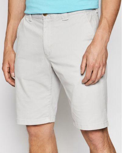 Szare szorty jeansowe materiałowe Tommy Jeans
