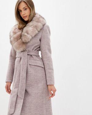 Зимнее пальто розовое пальто Giulia Rosetti