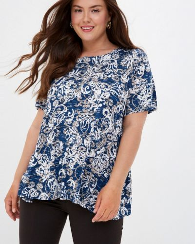 Синяя футболка с короткими рукавами Prewoman