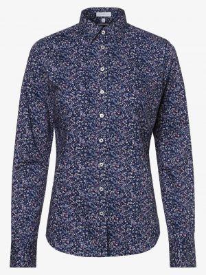 Niebieska bluzka bawełniana Brookshire