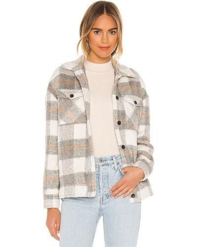 Серая куртка с карманами на пуговицах Saylor