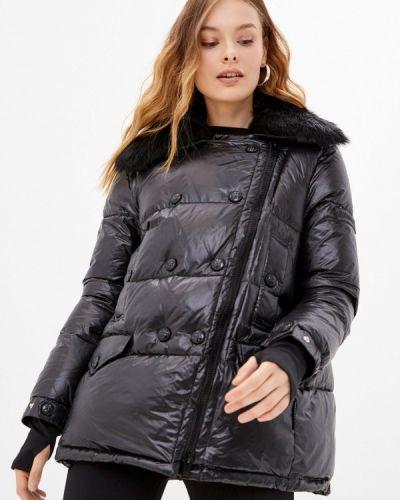 Черная демисезонная куртка Silvian Heach