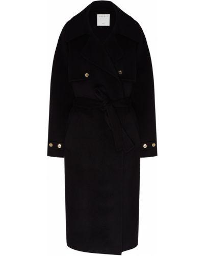 Пальто на кнопках шерстяное Sandro