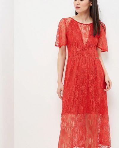 Красное коктейльное платье Phard