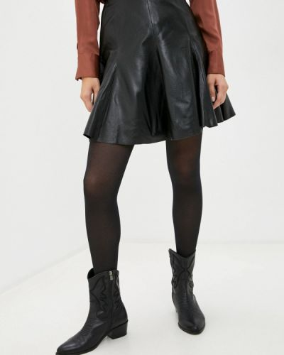 Черная кружевная блузка Arma