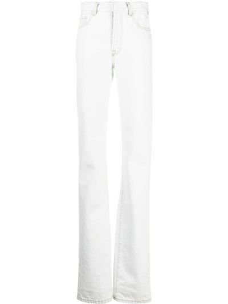 Синие с завышенной талией прямые джинсы Ssheena