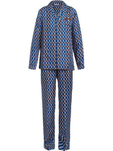 Spodni piżama jedwab długo Prada