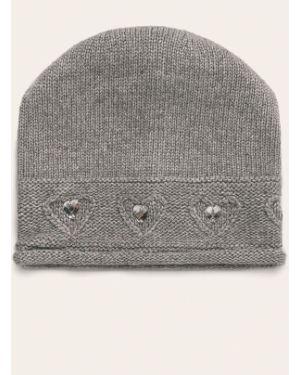 Szara czapka wełniana Giamo