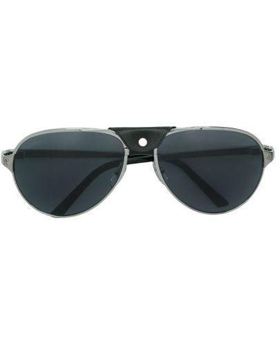 Солнцезащитные очки черные для зрения Cartier