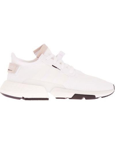 Кроссовки на резинке белый Adidas