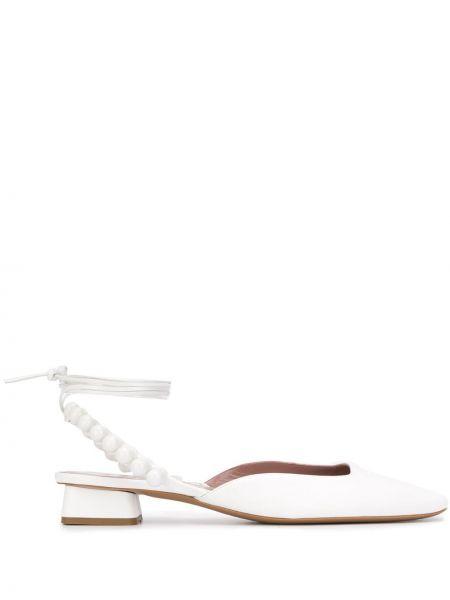 Туфли-лодочки с квадратным носком с бисером на каблуке Rayne
