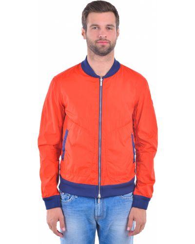 Оранжевая ветровка Armani Jeans