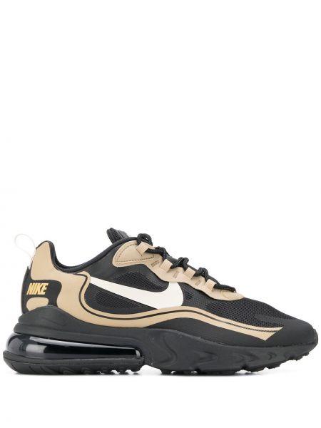 Черные кроссовки сетчатые с сеткой Nike