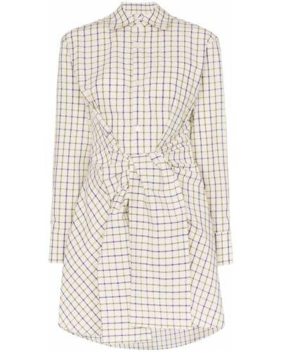 Классическая свободная классическая рубашка с поясом на пуговицах Wright Le Chapelain