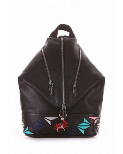 Черный рюкзак городской Alba Soboni