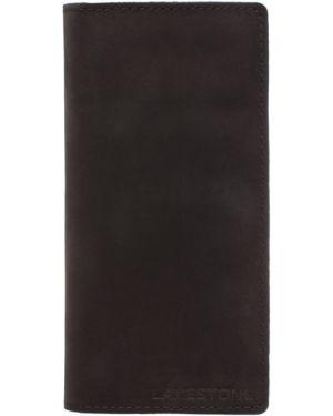 Клатч кожаный черный Lakestone