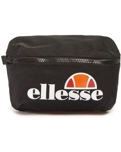 Черная поясная сумка с логотипом Ellesse