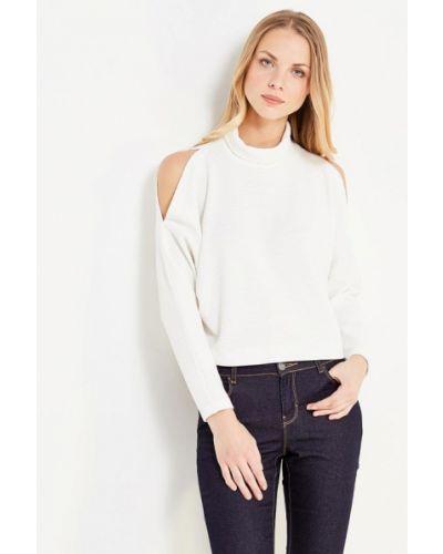 Белый свитер Арт-Деко