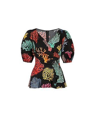 Блузка - черная Dolce&gabbana