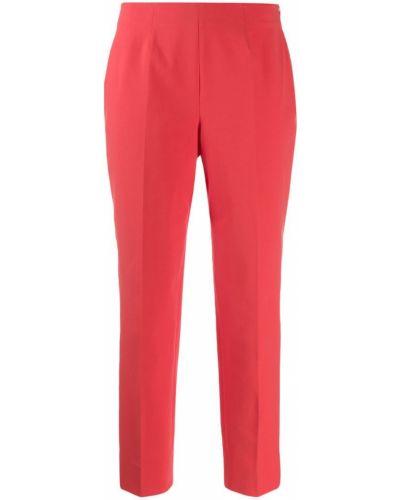 Укороченные брюки розовый Piazza Sempione
