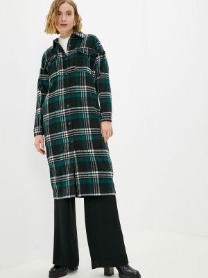 Зеленое зимнее пальто Fresh Cotton