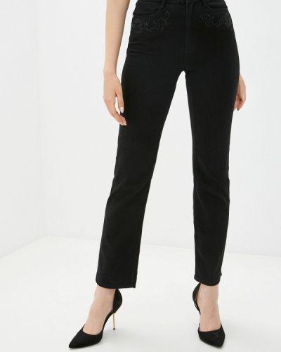 Прямые черные брюки Marks & Spencer