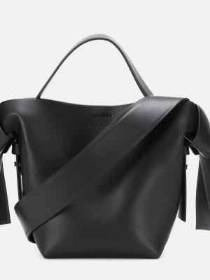 Кожаная сумка маленькая на плечо Acne Studios