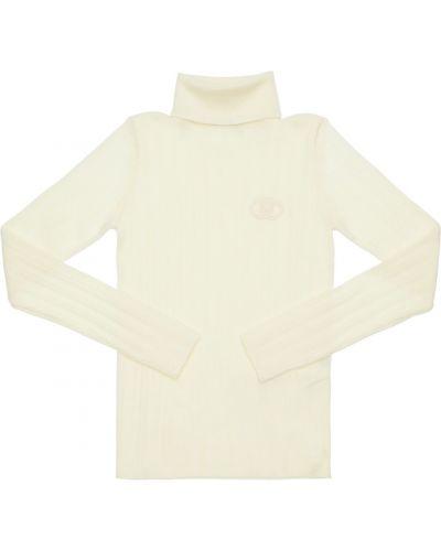 Biały sweter wełniany Gucci